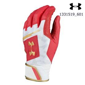 アンダーアーマー UNDER ARMOUR 1331519_601 UAアンディナイアブル バッティンググローブ(ベースボール/バッティンググローブ/MENS)野球 メンズ バッティング手袋 UA Undeniable Batting Glove UA Undeniable Batting Glove【取り寄せ商品】【601】RED 2019FW