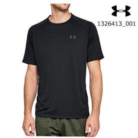 【メール便OK】アンダーアーマー UNDER ARMOUR 1326413_001 UAテック 2.0(トレーニング/Tシャツ/MEN)メンズ 半袖Tシャツ UA Tech SS Tee【取り寄せ商品】【001】BLK/GPH
