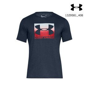 アンダーアーマー UNDER ARMOUR 1329581_408 UAボックス スポーツスタイル ショートスリーブ(ライフスタイル/Tシャツ/MEN)メンズ 半袖Tシャツ UA BOXED SPORTSTYLE SS【取り寄せ商品】【408】ADY/RED