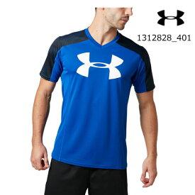 アンダーアーマー UNDER ARMOUR ラグビー プラクティスシャツ(ラグビー/MEN)メンズ 半袖 1312828_401 UA Rugby Practice Shirt【取り寄せ商品】【401】RYL(2006)