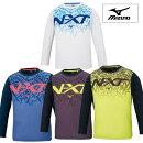 【あす楽対応】【2020年秋冬新作】MIZUNOミズノN-XT長袖Tシャツユニセックス(20aw)ホワイトブラックネイビーイエロー32JA0740【202009V】