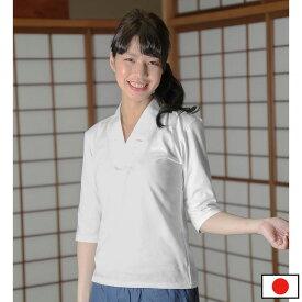 女性用 Tシャツ半襦袢 七分袖(S-L)