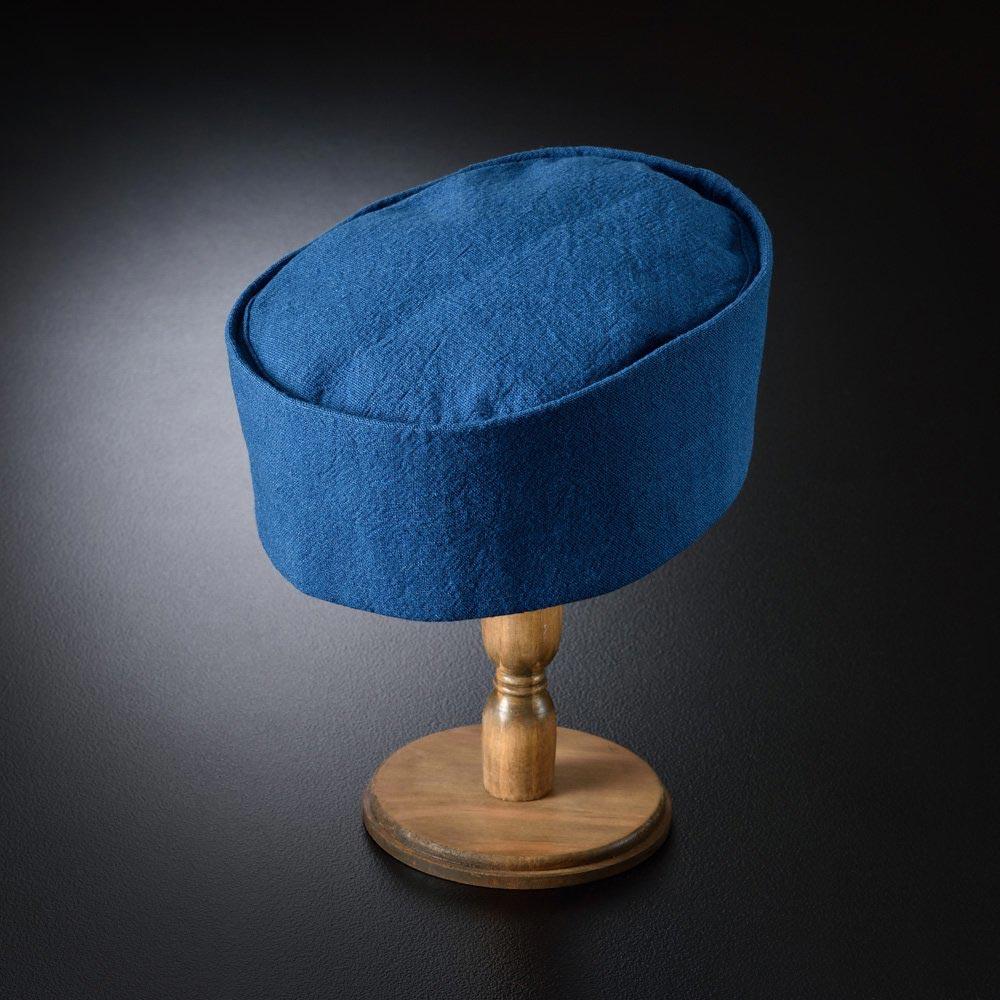 利休帽・和帽子/藍染利休帽(S-M)/男性 紳士 メンズ