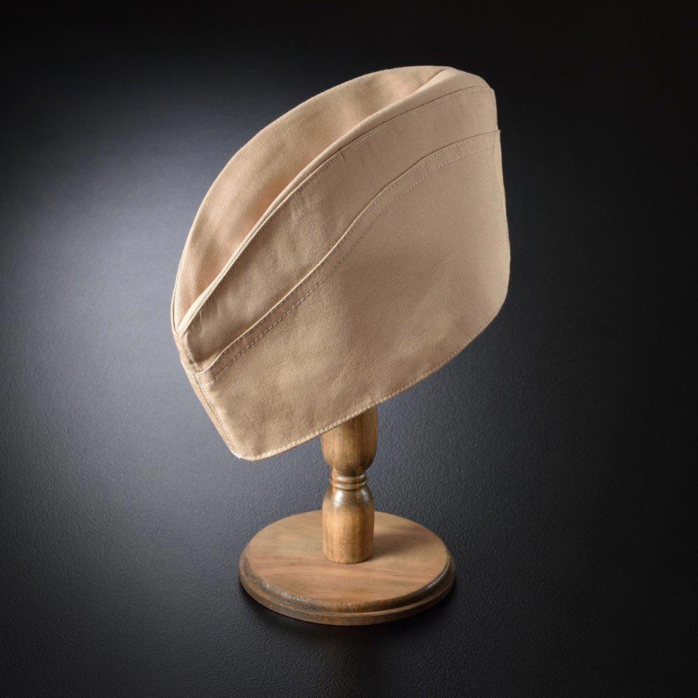和帽子/ギャリソン帽子 ベージュ/男性 紳士 メンズ