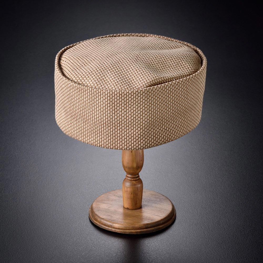 利休帽・和帽子/刺子織利休帽 黄金色(S-M)/男性 紳士 メンズ