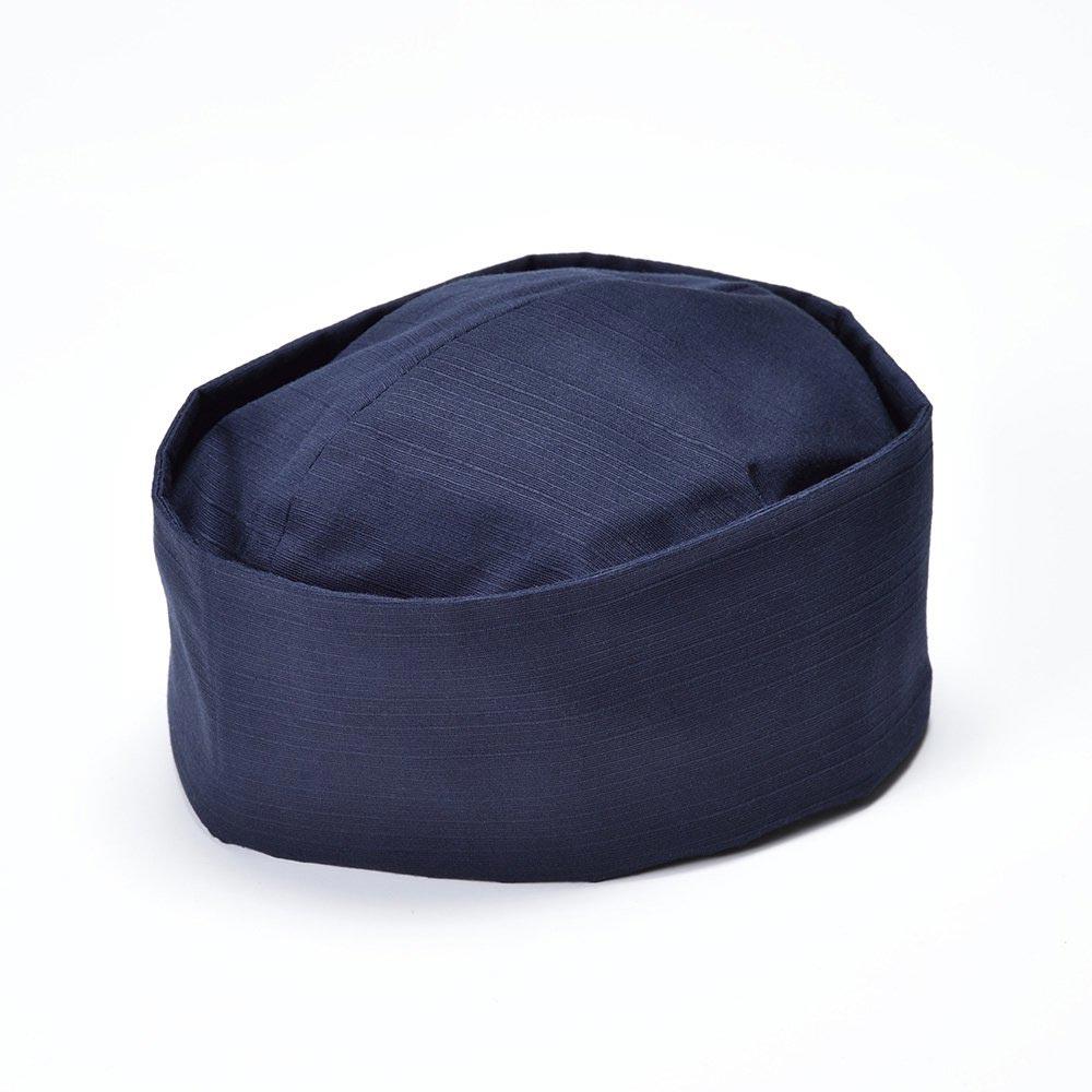 利休帽・和帽子/茶匠形 綿無地利休帽 紺(L)/男性 紳士 メンズ