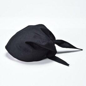 【父の日ギフト 無料ラッピング】けんか和帽子 黒
