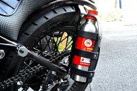 【サムライクラフト】ガソリンボトルホルダーベンズレザーブラックバイカーハンドメイド