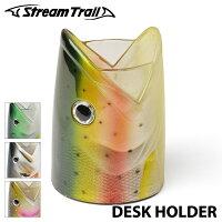 【StreamTrail】ストリームトレイユFiiiiishDeskHolderフィッシュディスクホルダーペン立てスタンドFISH魚アウトドア0601楽天カード分割