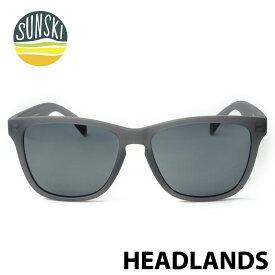 【SUNSKI】 サンスキー サングラス SUN-HL-BK 偏光サングラス Headlands Black/Black 眼鏡 雪山 オールシーズン アメカジ 0601楽天カード分割