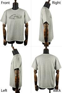 【SamuraiCraft】サムライクラフトオリジナル半袖Tシャツプリント半袖ブラックホワイトグッドオンヴィンテージTシャツアメカジ0601楽天カード分割