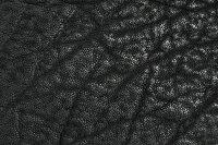 【サムライクラフト】ハーフウォレットN-1エレファントスキン象革ブラックグレーブラウンダブルステッチ革財布ハンドメイド