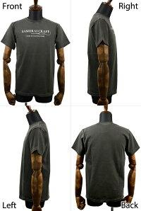 【SamuraiCraft】サムライクラフトオリジナルTシャツピグメントTシャツプリント半袖ブランドロゴPRIDEINCRAFTSMANSHIPグレーブラックキナリグッドオンヴィンテージTシャツアメカジ0601楽天カード分割