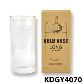 【SPICE BULB VASE】 スパイス KEGY4070 水栽培 ガラスベース クリア ロング フラワーベース 水苔栽培用 インテリア ガーデニング アウトドア 0601 花瓶 球根 楽天カード分割