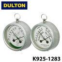 【DULTON】 ダルトン K925-1283 サーモハイグロメーター メキシコ ラウンド THERMO-HYGROMETER MEXICO ROUND 温湿度計 スチール レトロ…