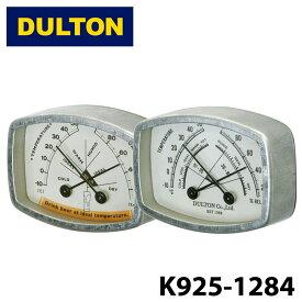 【DULTON】 ダルトン K925-1284 サーモハイグロメーター ビール レクタングル THERMO-HYGROMETER BEER RECTANGLE 温湿度計 スチール レトロ 雑貨 キッチン 調理 キャンプ アウトドア 0601 楽天カード分割