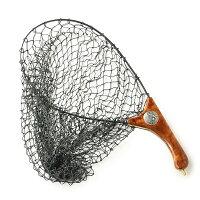 インスタネットランディングネット釣りたも網伸縮折り畳みカリン花梨瘤杢目木製高級サムライクラフトオリジナルロゴハンドメイド釣りフィッシングアウトドア0601楽天カード分割