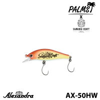 【Palms】パームスAlexandraアレキサンドラAX-50HW50mmルアーフィッシングツールアウトドア0601楽天カード分割