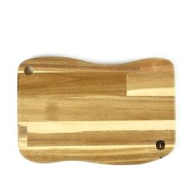 カッティングボード M Cutting board M 木製 ウッドカッティングボード カフェボード カフェプレート アカシア サムライクラフト オリジナル ロゴ ハンドメイド キャンプ アウトドア ピクニック 0601楽天カード分割