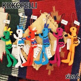 【Kokopelli】 ココペリベーシック ココペリフラッグ Sサイズ ストラップ ドール 人形 ネイティブ ハンドメイド 0601楽天カード分割