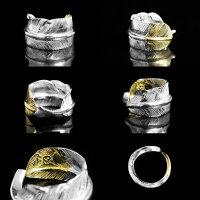 【FIRSTARROW's】ファーストアローズ先金フェザーリングR-141シルバーゴールドリング指輪