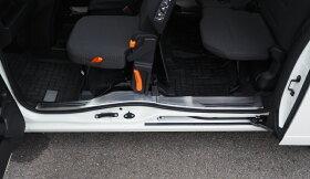 ホンダN-VANNVANサイドステップ内側スカッフプレート滑り止め付き4P選べる2カラーシルバーヘアラインブラックヘアラインHONDAN-VAN専用設計カスタムパーツドレスアップパーツアクセサリー