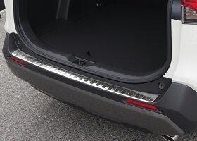 【予約】トヨタ新型RAV4リアバンパーステップガード1P車体保護ゴム付き選べる3カラーシルバーヘアラインブラックヘアラインカーボン調MXAA54AXAH54AXAH52MXAA5250系【6月28日頃入荷予定】