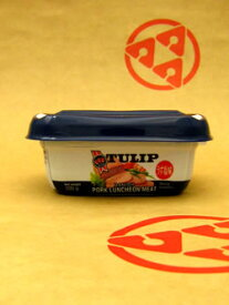 【※チューリップ エコパックポークランチョンミート(200g)】≪【●】≫≪〜プラスティックパックでエコ☆〜≫