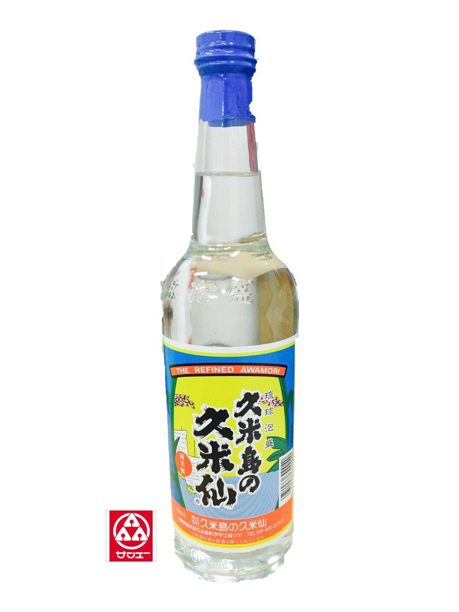 泡盛30度【久米島の久米仙 (600ml)瓶】