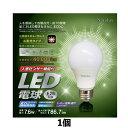 人感センサー機能付 LED電球 昼光色 HJK-60EL
