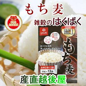 【雑穀米 もち麦 健康食品】雑穀米の専門メーカー はくばくもち麦スティックタイプ 50g 12袋 6個入健康食品として人気商品送料無料【大麦 ごはんの友】