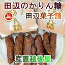 【お菓子 かりん糖 新潟産 送料無料】新潟県加茂市 田辺菓子舗 かりん糖たなべのかりん糖 10本入 10個【米菓子 かりん…