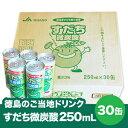 【徳島県民のご当地ドリンク】すだち微炭酸 250mL×30缶