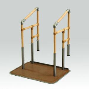 [ヤザキ] あがりかまち用たちあっぷ 両手すり CKE-03 介護 玄関 段差昇降支え 置き型 置くだけ 簡単設置 工事不要 重量31.8kg 手すり高さ80〜85cm 対応段差4〜18cm ヤザキ