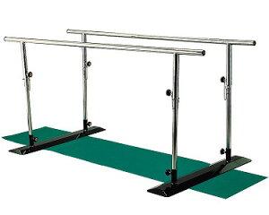 【法人宛送料無料】 カワムラサイクル 簡易平行棒 BP2 リハビリ 歩行トレーニング 歩行訓練 室内 自宅 病院 施設 デイサービス 高さ・長さ調節可能 重量20.8kg KAWAMURA
