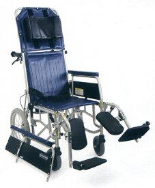 【法人宛送料無料】 カワムラサイクル フルリクライニング車椅子 RR43-N 介助式 介助ブレーキなし 脚部エレベーティング&スイングアウト リーズナブル 折りたたみ ベルト付 KAWAMURA