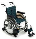 [ミキ] 自走用アルミ製6輪車いす スキット5 SKT-5