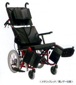 【法人宛送料無料】 カワムラサイクル ティルト・リクライニング車椅子 KPF16-40 KPF16-42 介助式 ぴったりフィット 標準仕様 エレベーティング&スイングアウト 折りたたみ 低反発クッション付 シート幅40/42cm KAWAMURA