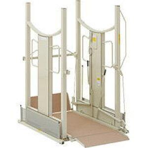 [いうら] 車椅子用電動昇降機 UD-1500(昇降範囲6.5〜150cm)