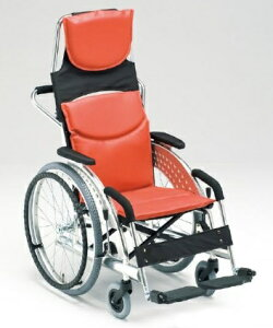 【法人宛送料無料】[松永製作所] 車載用車椅子 自走型 MZ-1 自走式 エアータイヤ仕様 座幅42cm MATSUNAGA