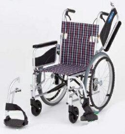 【法人宛送料無料】 日進医療器 車椅子 自走式 NEO-1W 多機能タイプ ノーパンクタイヤ仕様 肘掛跳ね上げ 脚部スイングアウト リーズナブル 折りたたみ 座幅40/42cm耐荷重100kg NISSIN