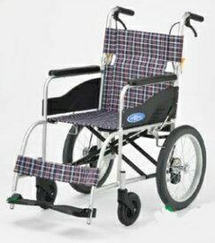 [日進医療器]NEO-2 介助用車いす 標準タイプ ノーパンクタイヤ仕様