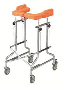 [星光医療器製作所] アルコー1G-T型 抵抗器付 100491 歩行器 歩行車 介護用 高齢者用 大人用 室内用 歩行補助 歩行訓練 リハビリ コンパクト 折りたたみ可能 病院 施設 自宅