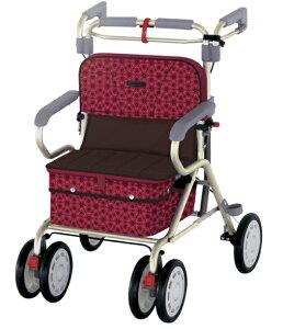 [リーマン] ナウワイド 歩行器 歩行車 介護 高齢者 大人用 屋外用 歩行補助 イス付 折りたたみ可能 種類