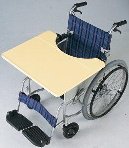 [日進医療器] 車椅子用テーブル これべんり 軽量タイプ TY070L 樹脂製 取り付け簡単 車椅子座幅38〜42cm対応 重量2.7kg