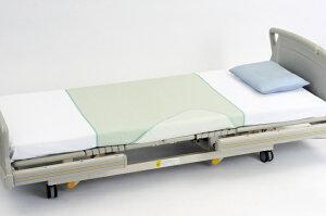 [ピジョンタヒラ] ハビーナス耐熱防水シーツ無地 幅140×丈90cm 部分タイプ 介護 マットレス 布団 シングル 耐熱性130℃