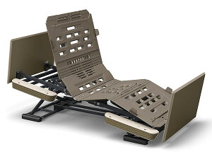 [パラマウントベッド] 楽匠プラス Hタイプ 3モーション 91幅 レギュラー/ミニ KQ-A6314 KQ-6325 KQ-6336 スリムボードタイプ 木製ボード 介護 電動 リクライニング ベッド ラクリア らくらく 背あげ
