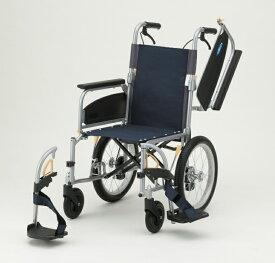【法人宛送料無料】 日進医療器 車椅子 介助式 NEO-2αW 多機能型 折りたたみ 肘掛跳ね上げ 脚部スイングアウト ノーパンクタイヤ仕様 リーズナブル 種類 耐荷重100kg 座幅40cm NISSIN