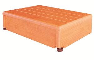 [シコク] 玄関台 (木製) 45W-30 640-010 幅45×奥行30×高さ12cm ステップ台 踏み台 昇降 段差解消