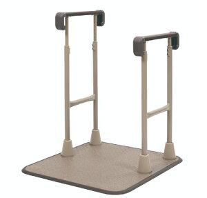 [タマツ] すりてあsix 両手すりS ST6-SS (踏み台無し) 置き型 手すり 工事不要 工事無し 室内用 介護 高齢者 玄関 上がり框 段差 昇降